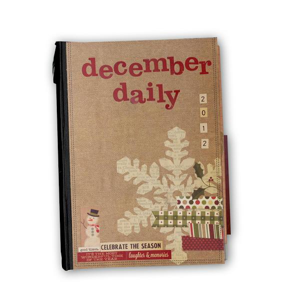 December Daily - cover of album