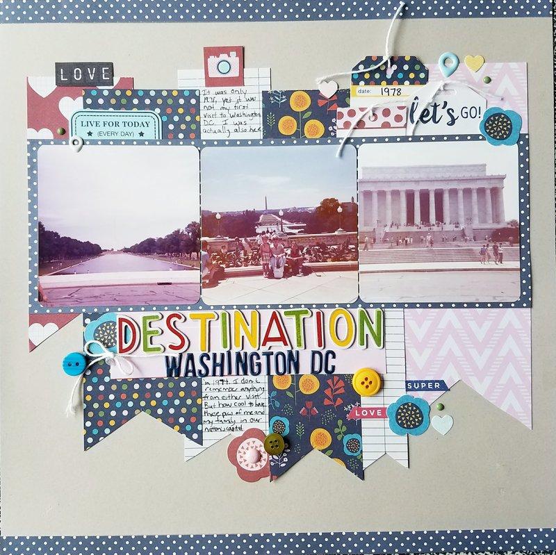 Destination Washington DC