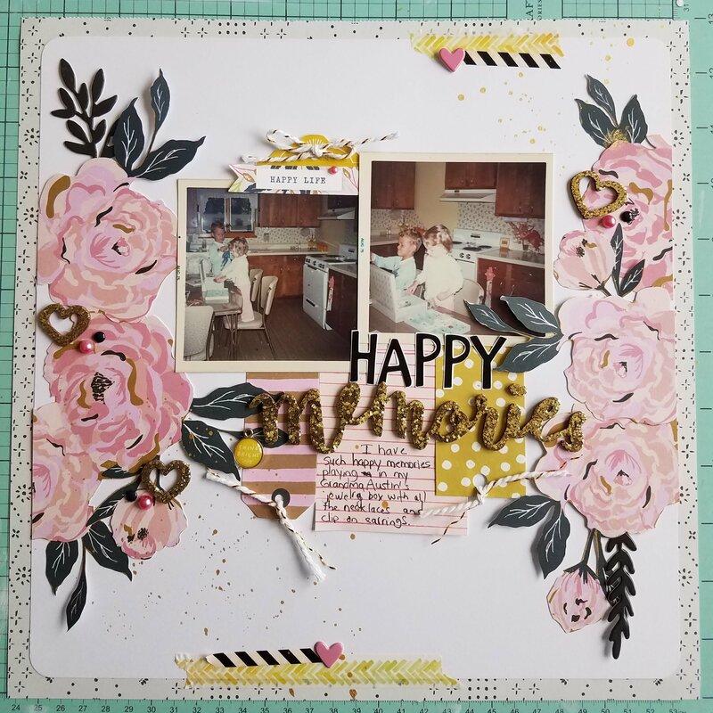 Happy Memories  ****Maggie Holmes****