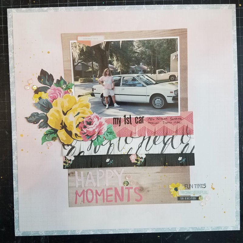 Happy Moments - My 1st Car   ***Maggie Holmes Bloom***