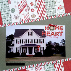 Home is the heart of the holiday