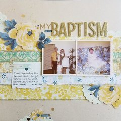 My Baptism ****Maggie Holmes***