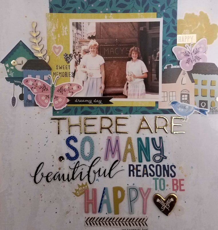So Many Reasons to be happy   *****Crate Paper Willow Lane***