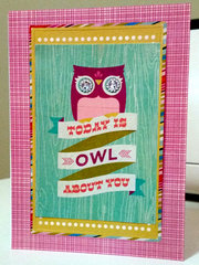 Today is owl about you