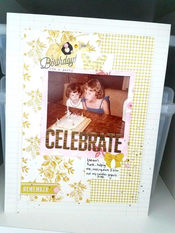 Celebrate   ***Maggie Holmes***