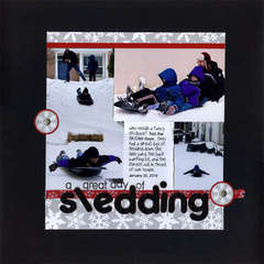 a Great day of Sledding