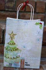 Gift Bag - Bo Bunny Blitzen