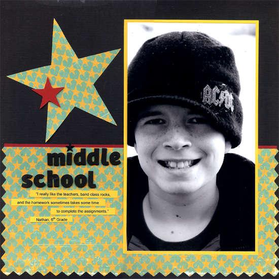 Middle School (March TSM)