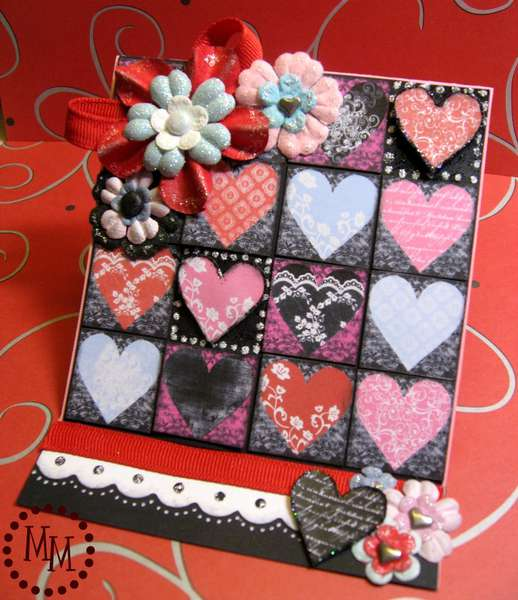 Valentine's Day Easel Card