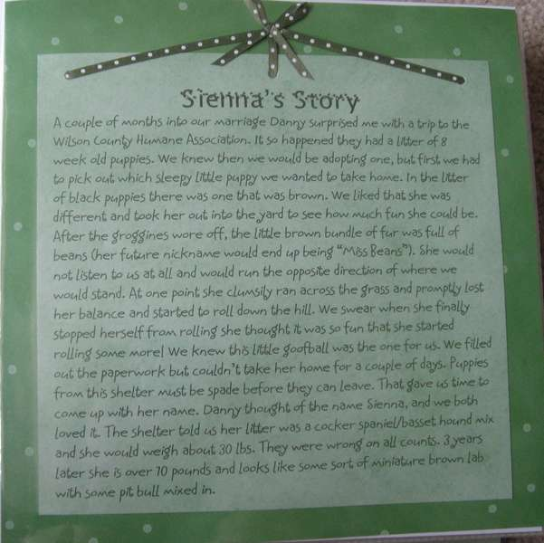 Sienna's Story Part 2