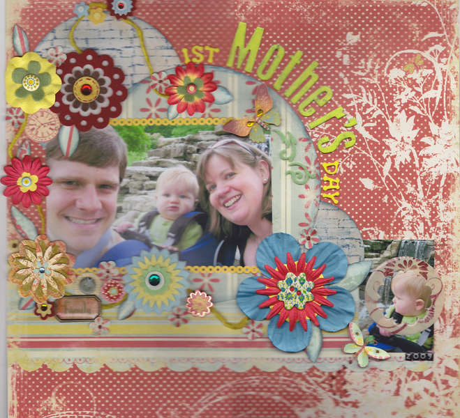 1st Mother's Day card