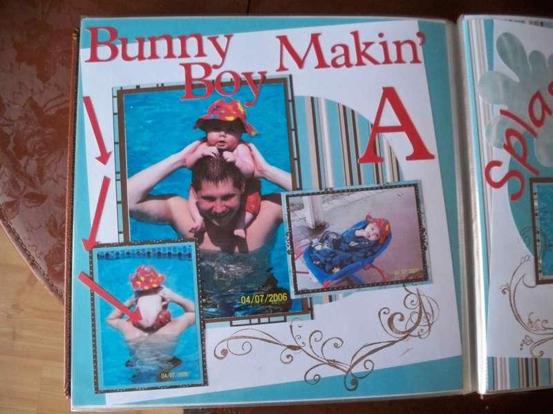 Bunny Boy Makin' A Splash