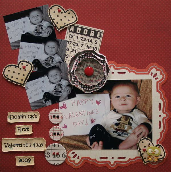 Dominick's First Valentine's Day
