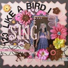 123 LIKE A BIRD I SING