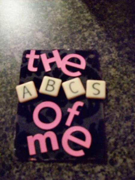 The ABC;s of Me mini album