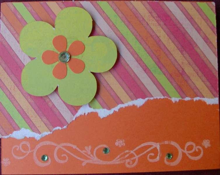 Flower Notecard