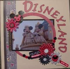 Disneyland cover page