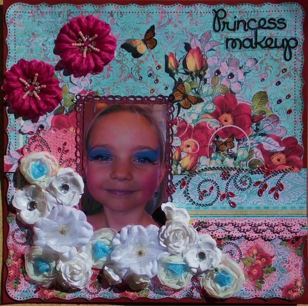 Princess makeup **Funtoolas kit club**