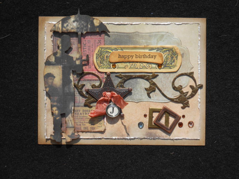 Birthday card for John