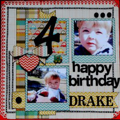 Happy Birthday Drake  **My creative sketches**
