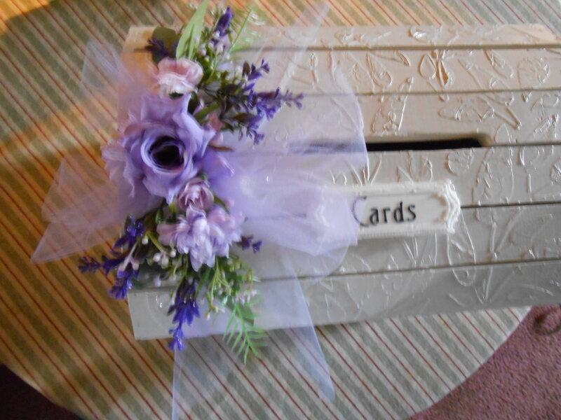Wedding card box.