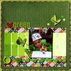Heart green ***My creative sketches***