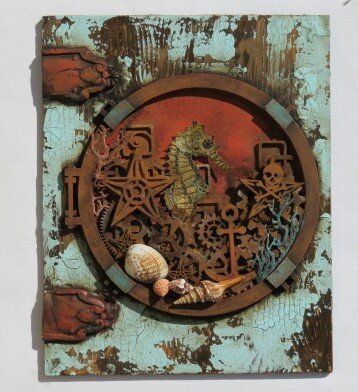 Lost Worlds wall hanging