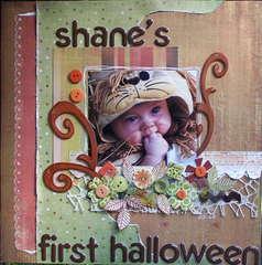 SHANE'S FIRST HALLOWEEN