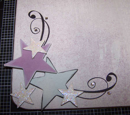 Starry Altered Clipboard detail