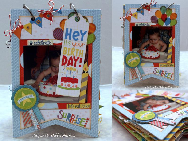 Birthday Mini *Bo Bunny DT*