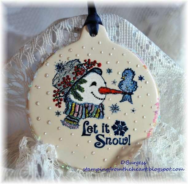 Snow Friends Ornament