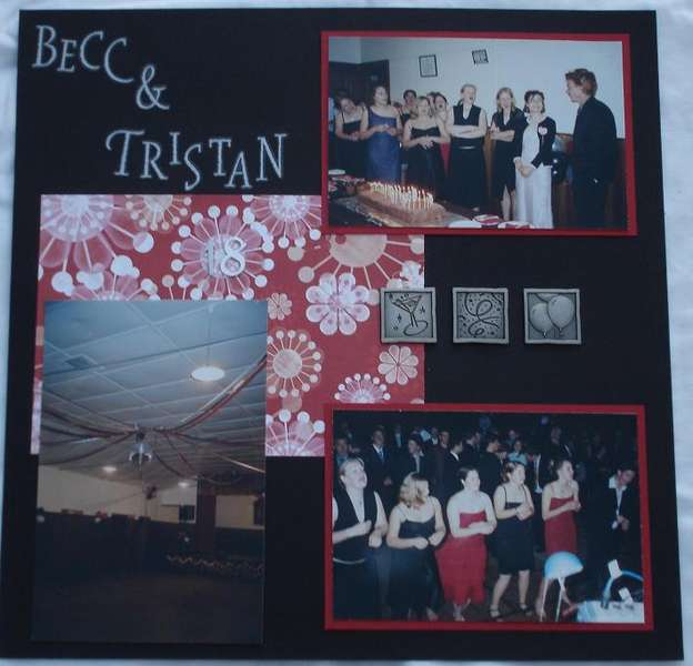 Becc and Tristan's 18th