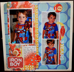 iron boy *New Studio Calico*