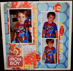 iron boy *New Studio Calico*
