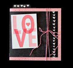 Love Accordian Card