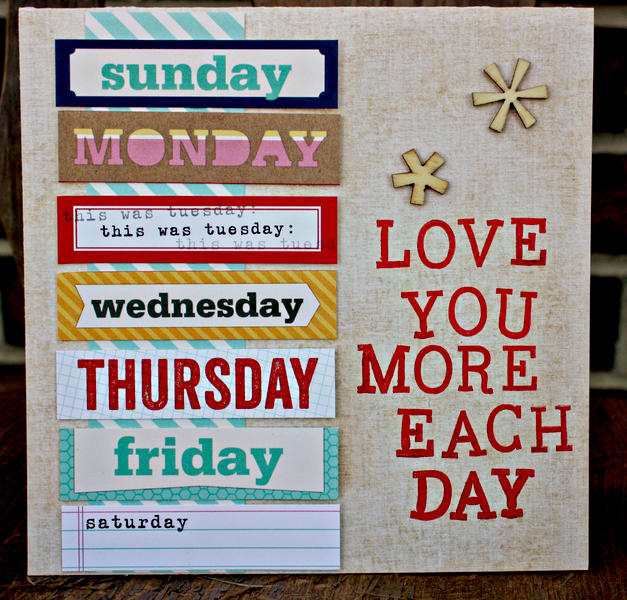 Every Day I love you More Card