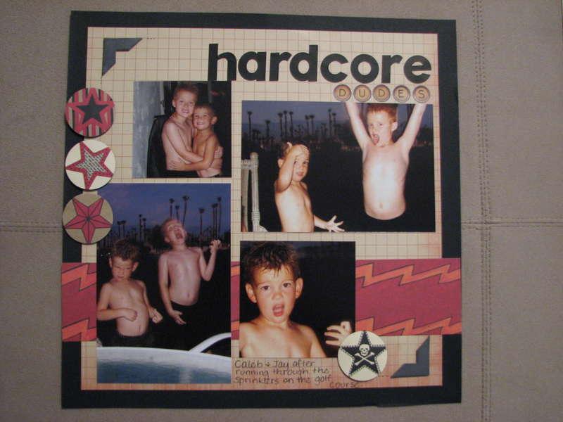 hardcore dudes