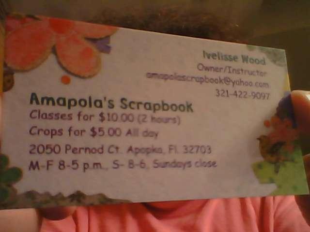 Amapola's Scrapbook