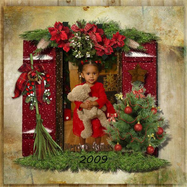 Amiyah Christmas '09