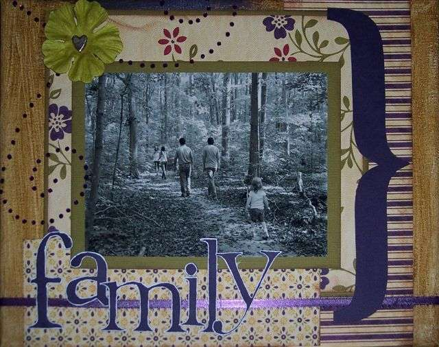 """Altered Canvas """"family"""""""