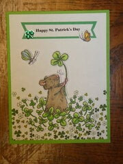 Happy St. Patrick's Day - Mouse & Clover