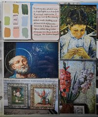Vatican Mosaic Studio - Details