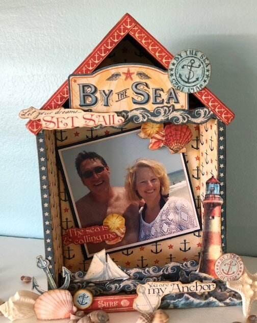 By the Sea Shadow Box