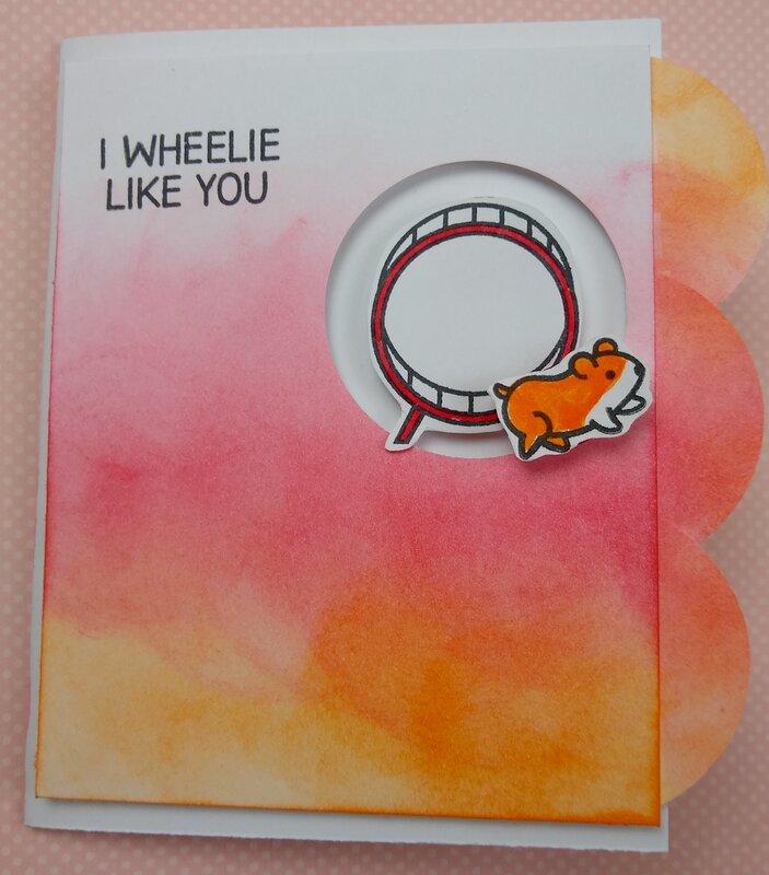 I Wheelie Like You Valentine's Day Card