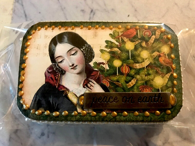 Altered Altoid Tin