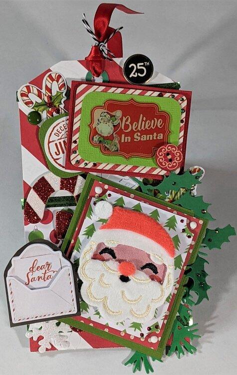 Christmas Tag Card