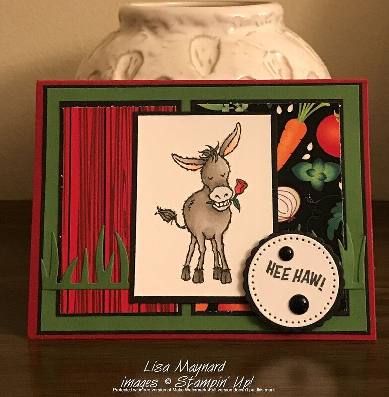 Darling Donkeys card