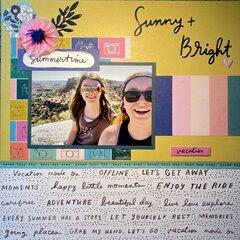 Sunny + Bright