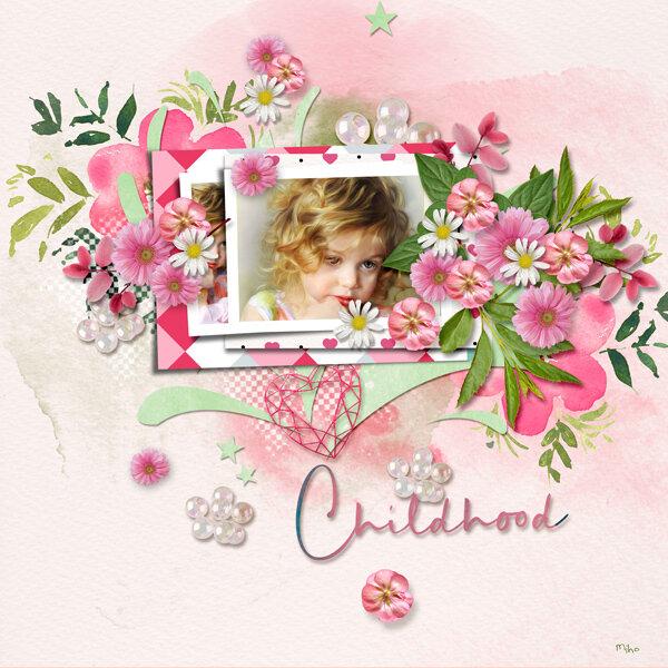 """Childhood"" de CarolW Designs"