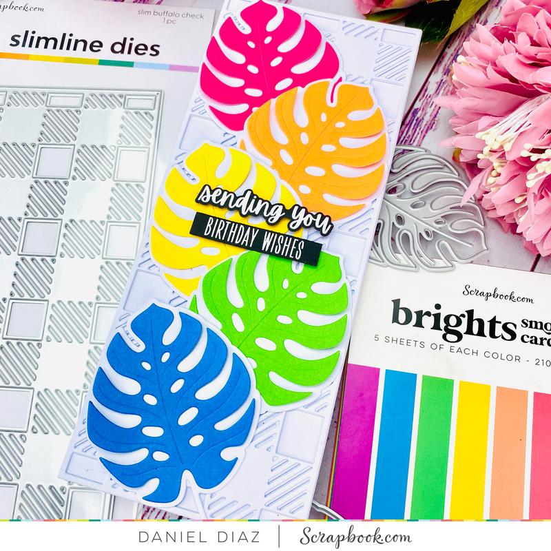 Bright Happy Birthday Card